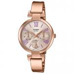 นาฬิกาข้อมือผู้หญิงCasioของแท้ LTP-E404PG-4A