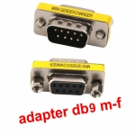 adapter DB9 rs232 serial converter Male to FeMale