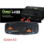 Gview K3 macro Gaming Keyboard