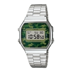 นาฬิกาข้อมือผู้หญิงCasioของแท้ A-168WEC-3DF