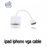 สายแปลง ADAPTER VGA ใช้กับiphone4/4s ipad2/3ต่อเข้า จอCOMPUTER