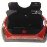 HDD DOCKING มี card reader มีusb กับ ESATA เป็นSATA 2ช่อง