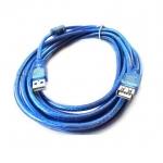usb ต่อยาว Extention cable AM AF 3m v2.0- blue