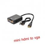 สายแปลงสัญญาณ mini HDMI To VGA มีเสียงด้วย
