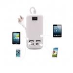adapter ที่ชาร์จ iphone ipad มีUSB 4 ช่อง 15W