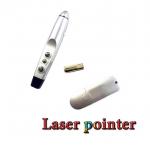 รีโมทพรีเซนไร้สายLaser pointer wireless presentation ใช้กับpowerpoint-Silver