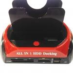 HDD DOCKING มี card reader มีusbกับESATA เป้นIDE 1ช่อง SATA1ช่อง