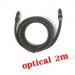 สาย เสียง Optical Fiber สายถักอย่างดี 5.1 7.1 ยาว2m