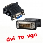 หัวแปลง DVI 24+5เป็น vga