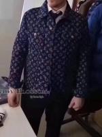 เสื้อ Jacket jean BRAND LV