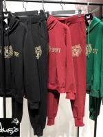 แบรนด์ Kenzo เสื้อฮู้ด+กางเกงขายาว เข้ารูป