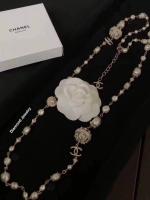 Chanel Pearl Necklace สร้อยคอมุกชาแนลงาน 1:1