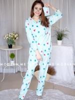เสื้อผ้าเกาหลีพร้อมส่ง น่ารักมากค่าสำหรับชุดนอนชินจังset pyjamas korea