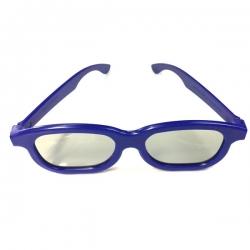 แว่นสามมิติ 3D CLASS สีเทา ใช้กับTV 3D -blue