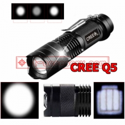 UltraFire Mini ไฟฉายสว่างมาก CREE LED Q5