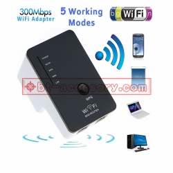 mini wireless-N Wifi Repeater WiFi Access point 300Mbps 802.11 b/g/n แบบพกพา