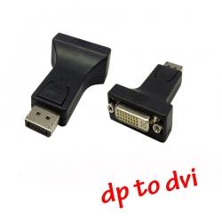 หัวแปลง display prot to DVI ต่อจอ