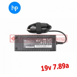 adapterที่ชาร์จ เครื่อง คอม all in one HP 19v 7.89a 150W หัวเข็ม -black