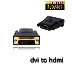 adapter หัวแปลง DVI เป็น HDMI HDMI เป็น DVI