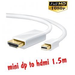 สายแปลง mini display port to hdmi 1.5m มีเสียงด้วย