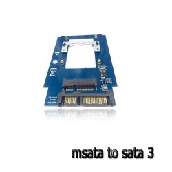 ตัวแปลง MSATA SSD to sata 3