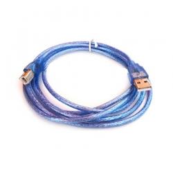 usb printer cable AM BM v2.0 1.8m -blue