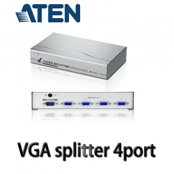 VGA Splitter ATEN 1คอม ออก 4จอ