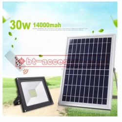 Solar light Spotlights 60LED 30W 14000mah remote control