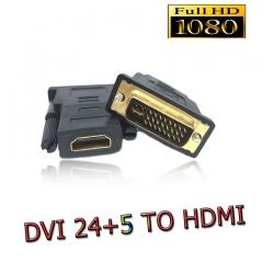 adapterหัวแปลง DVI 24+5 to HDMI HDMI เป็น DVI