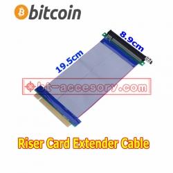 PCI-E Express PCI-E 16X Slots Riser Card Flexible Ribbon Extender Adapter Cable