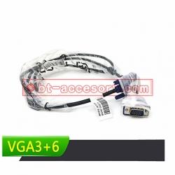 สายจอ VGA cable 1.8m 3+6 คุณภาพดี แท้