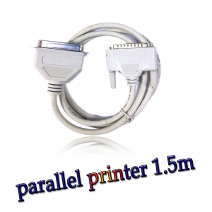 สาย parallel printer cable ยาว 1.5m -Gray