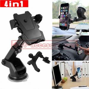 ที่วางมือถือในรถ ขาจับโทรศัพท์ แบบยืดได้Long Neck one-Touch car mount ติดกระจก คอนโทรลรถ โต๊ะ ช่องแอ