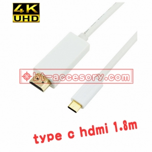 type c usb 3.1 to hdmi 1.8m with audio 4kx2k for macbook chromebook