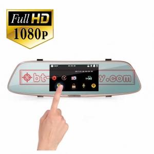 กล้องติดรถยนต์ L808 2กล้อง 170ºG-sensor จอ5นิ้ว TOUCH SCREENเป็นกล้องถอยหลังได้ด้วย 1080P
