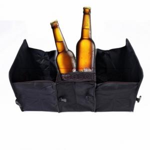 กระเป๋าจัดระเบียบท้ายรถ3ช่องพับเก็บได้พร้อมช่องรักษาอุณหภูมิร้อน-เย็น