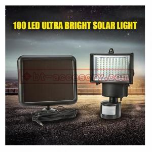 Solar light 100 LEDไฟติดผนังโซล่าเซลล์พลังงานแสงอาทิตย์ Motion sensor