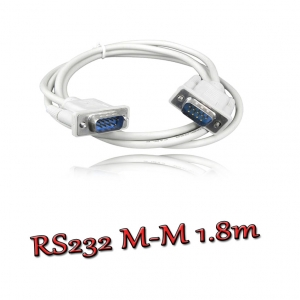 สายserial RS232 comport DB9 Male Male 1.5m -white