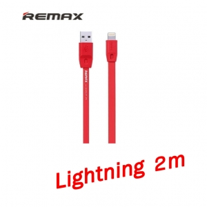 Remax สายชาร์จ Lightning 2m full speed quick charge and data cable for ios