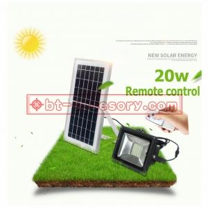 Solar light Spotlights 40LED 10W ไฟติดผนังโซล่าเซลล์พลังงานแสงอาทิตย์ remote control