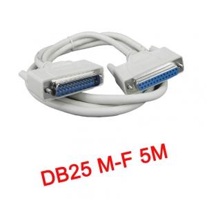 สายParallel Cable DB25 Male to Female 5m