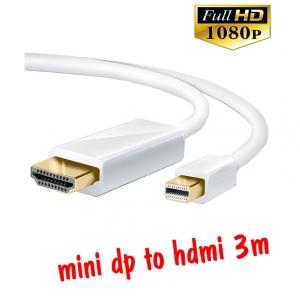 สายแปลง mini display to hdmi 3m มีเสียงด้วย