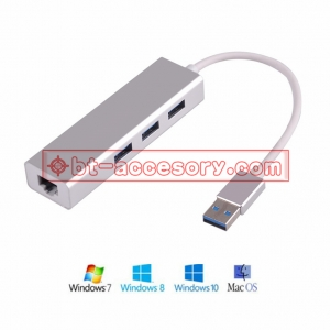 usb 3.0 lan Gigabit ethernet adapter with hub usb 3.0 for win mac