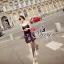 ชุดเดรสเกาหลี พร้อมส่ง Mini Dress ลุคนี้ให้สไตล์คุณหนูแสนซน แอบเปรี้ยวเล็กน้อย thumbnail 2