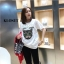 T-Shirt Dresses Gucci ลายแมว thumbnail 2