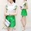 เสื้อผ้าเกาหลี พร้อมส่งZARA Set ตัวเสื้อแขนกุดคอปก thumbnail 2