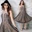 ชุดเดรสเกาหลีพร้อมส่ง Johana Luxury Lace Dress thumbnail 2