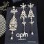 พร้อมส่ง APM Earring & Necklace เซตต่างหู & สร้อยคอ APM thumbnail 4