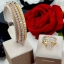 พร้อมส่ง Diamond Bracelet & Ring งาน 3 กษัตริย์ สีเงิน/ทอง/พิ้งโกลด์ thumbnail 2