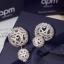 APM Earring ต่างหูเพชร CZ แท้แบรนด์ APMพร้อมส่ง thumbnail 5